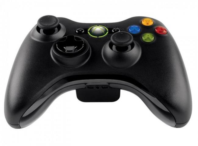 Xbox 360 pultelis juodas